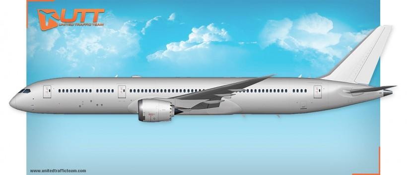UTT AI Boeing 787-900 Dreamliner