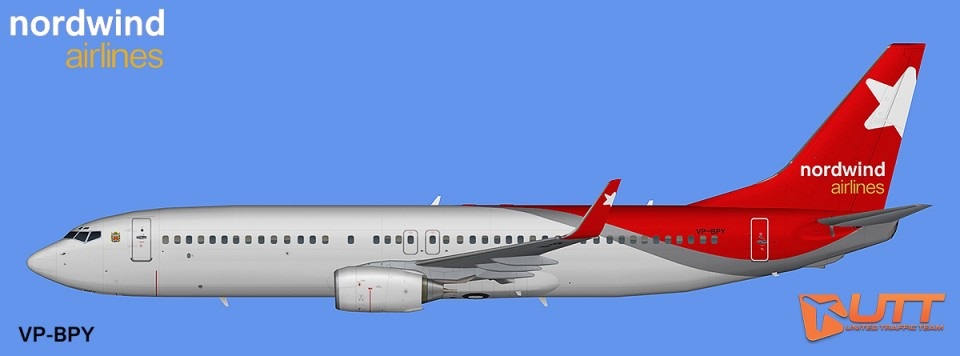 FAIB AI Boeing 737-800w Nordwind Airlines