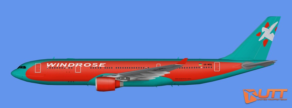 Windrose Airbus A330-200 fleet