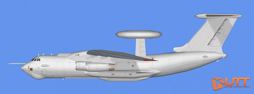RATS AI Ilyushin Il-78 and Il-A50 Base Model