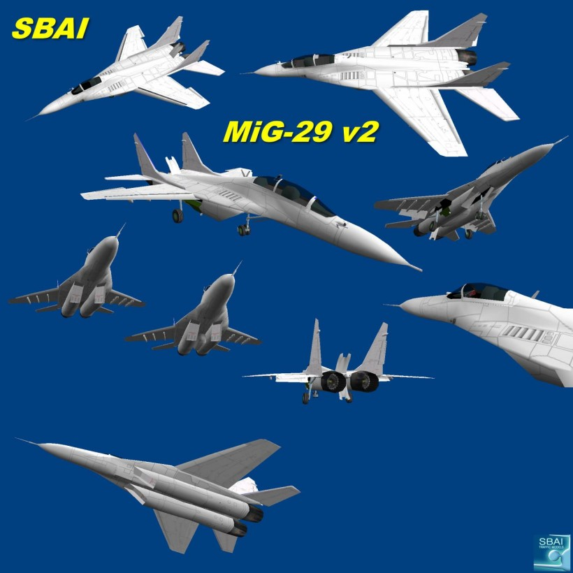 SBAI AI Mig-29 v2