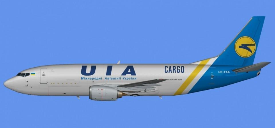 Ukraine Intl Boeing 737-300 UR-FAA