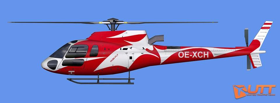 HUBI-FLY AI AS350 OE-XCH