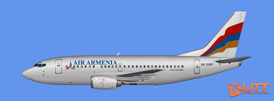 AI B737-500 Air Armenia