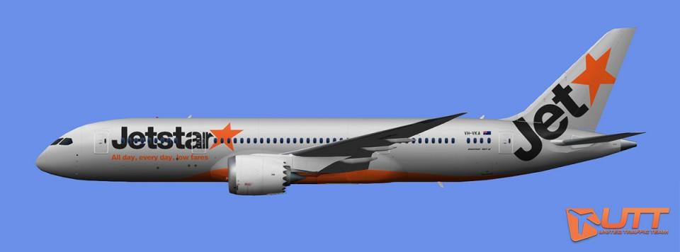 Jetstar Boeing 787-8 (FSX,Prepar3D)