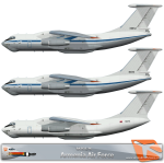 RATS Armenian Air Force IL-76