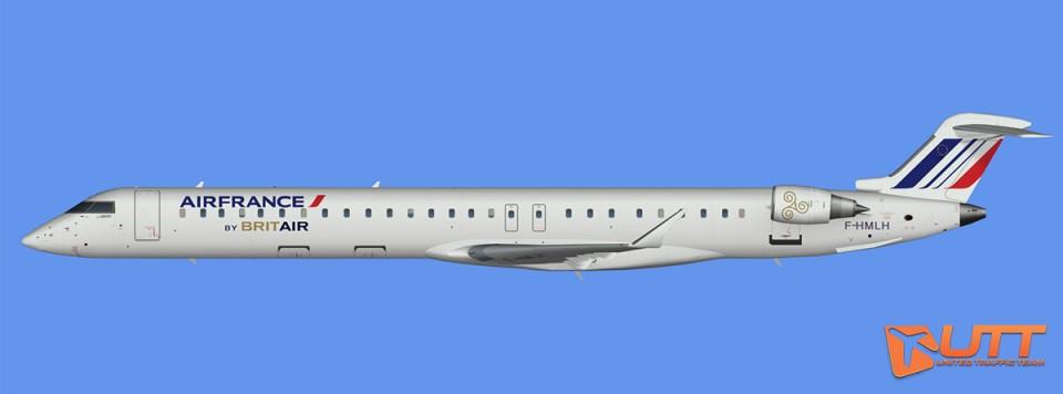 HOP!/Britair CRJ-1000 representative fleet (FS2004)