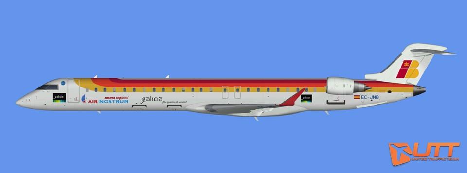 Air Nostrum CRJ-900 (FSX)