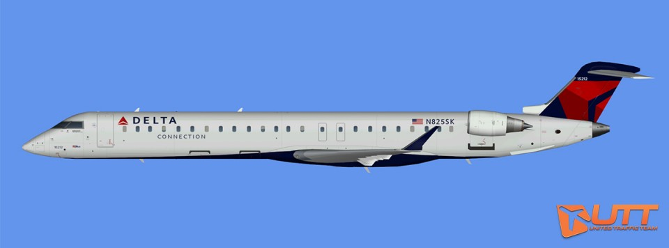 Delta Connection CRJ-900 (FSX)