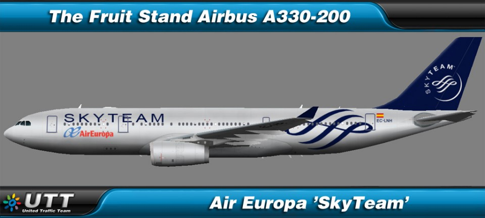 Airbus A330-200 Air Europa 'SkyTeam'