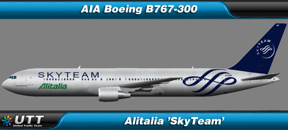 Boeing B767-300 Alitalia 'SkyTeam'