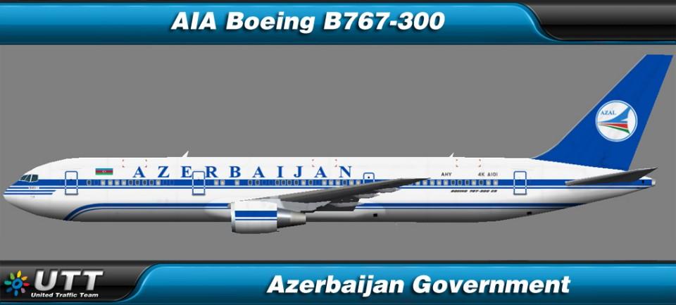 Boeing B767-300 Azerbaijan Government