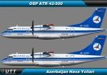 ATR 42-500 Azerbaijan Airlines