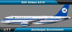 Airbus A319 Azerbaijan Government