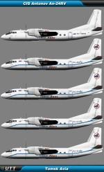 Antonov An-24 Tomsk Avia
