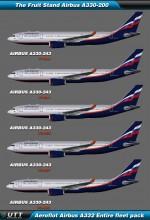 Airbus A330-200 Aeroflot (Entire fleet pack)