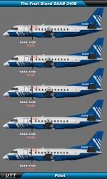 Saab 340 Polet (Entire fleet pack)
