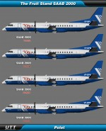 Saab 2000 Polet (Entire fleet pack)