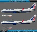Boeing B737-800 Transaero (Entire fleet pack)