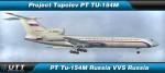 Tupolev TU-154M VVS Russia 85155