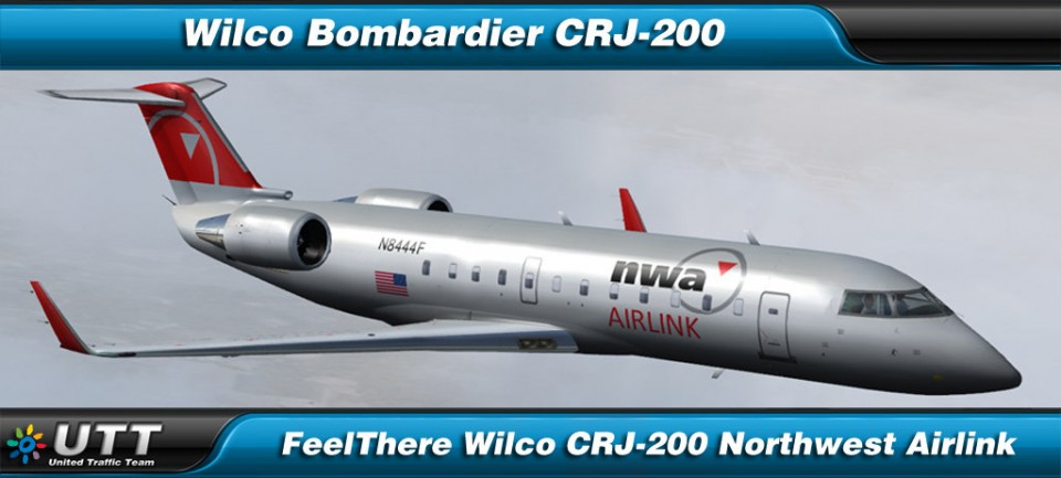 Bombardier CRJ-200 Northwest Airlink