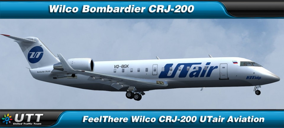 Bombardier CRJ-200 UTair Aviation