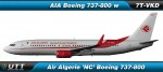 Boeing B737-800 Air Algerie