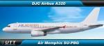 Airbus A320 Air Memphis SU-PBG