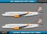 Jettime Boeing 737-700w OY-JTY & OY-JTZ