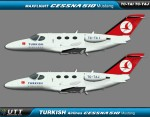 Turkish Airlines Flight Academy Cessna 510 Mustang fleet