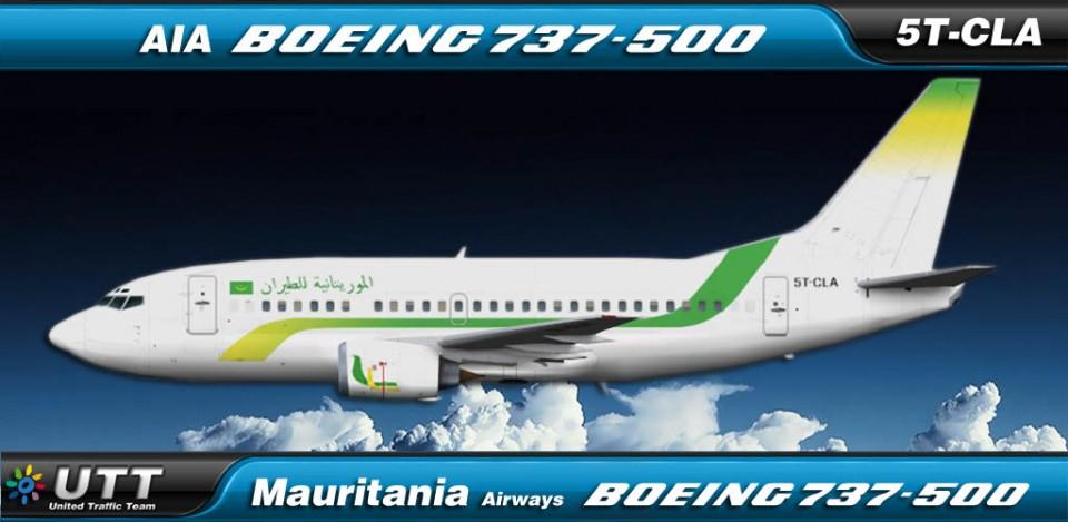 Mauritania Airways Boeing 737-500 5T-CLA
