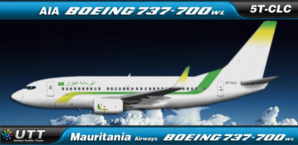 Mauritania Airways Boeing 737-700 5T-CLC
