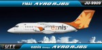 Eznis Air Avro RJ85 JU9909
