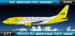 Mistral Air Boeing 737-300QC EI-DVA