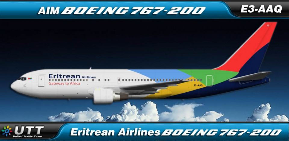 Eritrean Airlines Boeing 767-200 E3-AAQ
