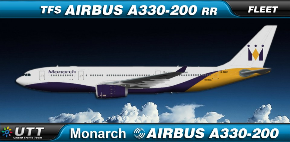 Monarch Airlines Airbus A330-200 fleet