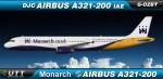 Monarch Airlines Airbus A321-200 G-OZBT