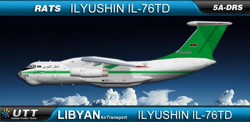 Libyan Air Transport Ilyushin76TD 5A-DRS