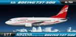 Air Zena Boeing 737-500 4L-TGI