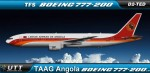 TAAG Angola Airlines Boeing 777-200 D2-TED