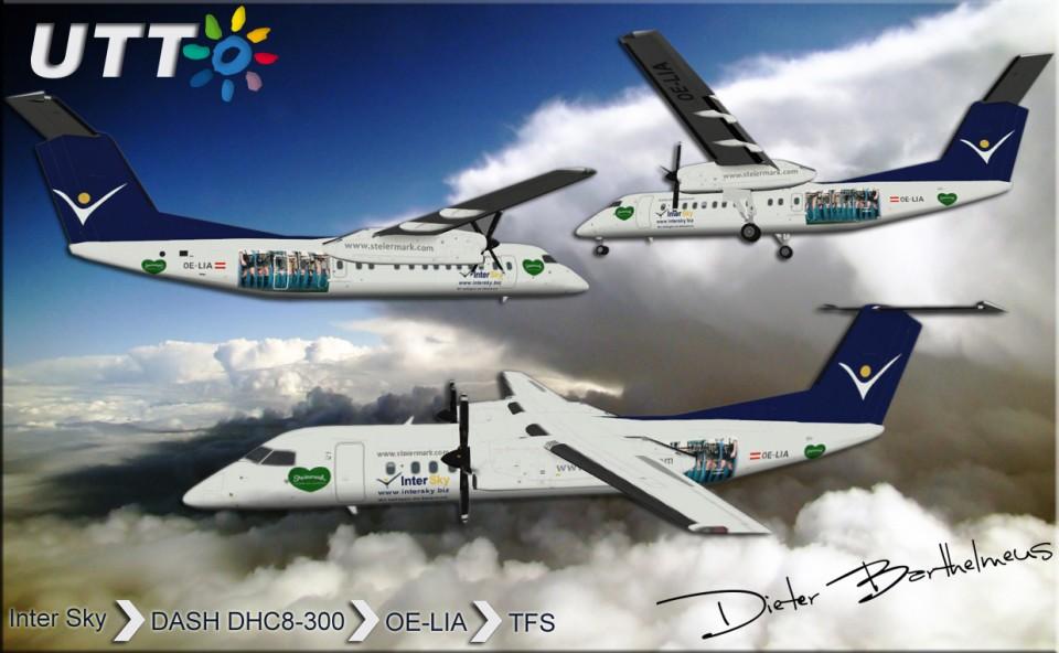 Intersky Dash DHC-8-300 OE-LIA