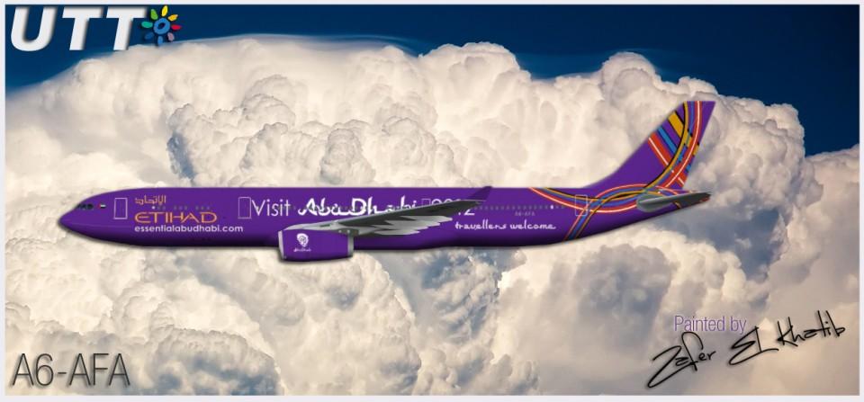 Etihad Airways Airbus A330-300 A6-AFA