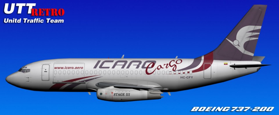 AI 737-200 Icaro Livery