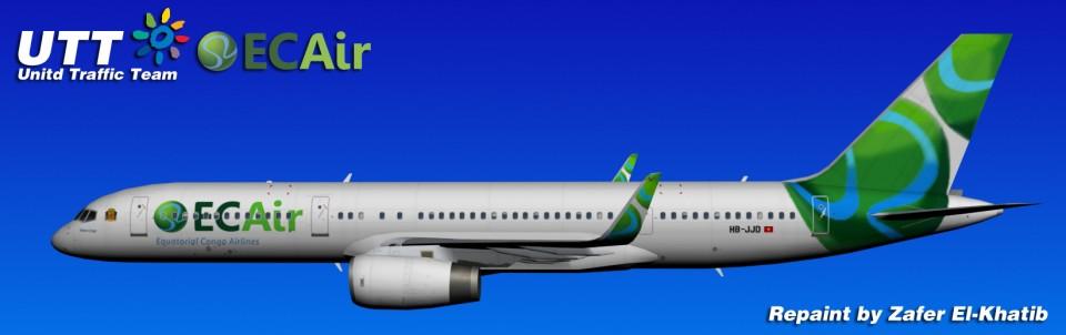EC AIR Boeing 757-200w HB-JJD