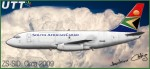 South African Airways Cargo Boeing 737-200 ZS-SID