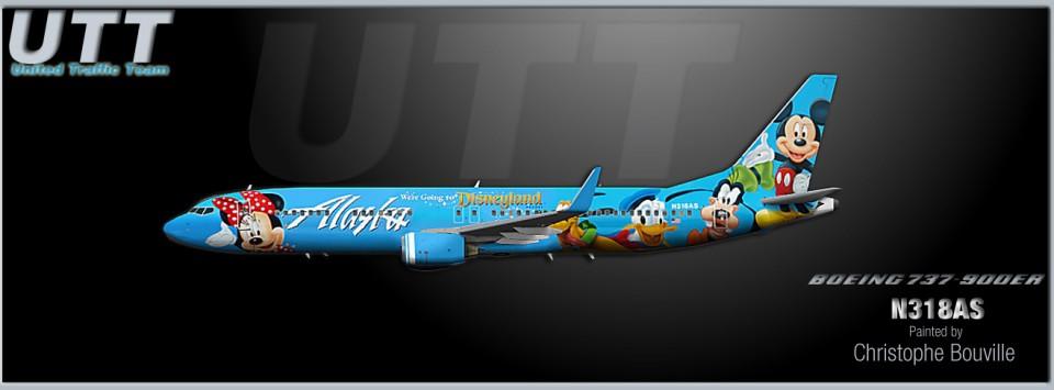 Alaska Airlines Boeing 737-900ER N318AS