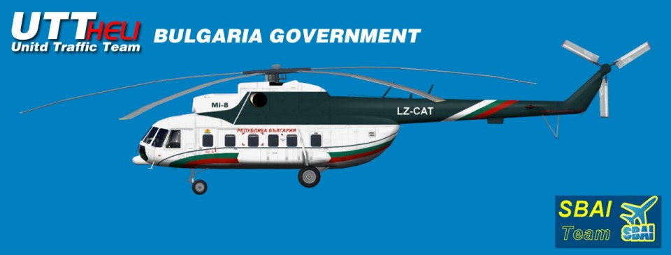 BULGARIA GOVERNMENT AI Helicopters Mi-8T