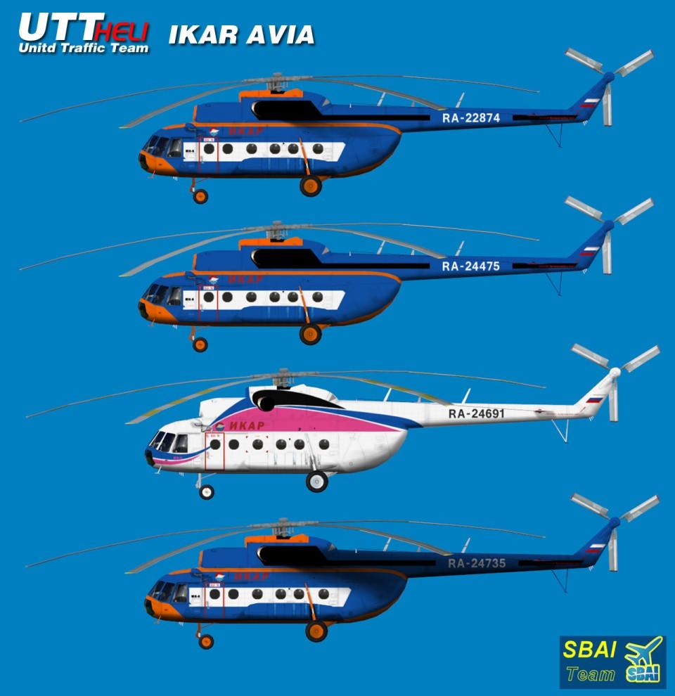 IKAR AI Helicopters Mi-8T
