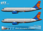 Khors Aircompany Airbus A320 (HIBRID) UR-CKA,UR-CKB
