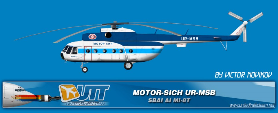 MOTOR-SICH UR-MSF AI Helicopters Mi-8T